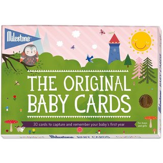 30 Milestone Baby Cards English