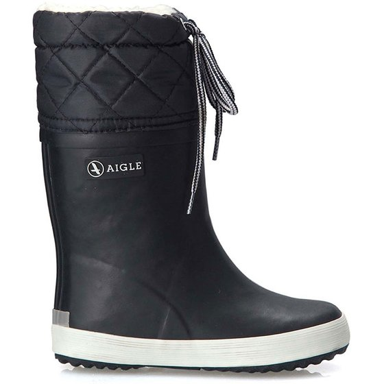 Lined Rubber Boots marine
