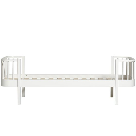 WOOD Bed 90x200cm white