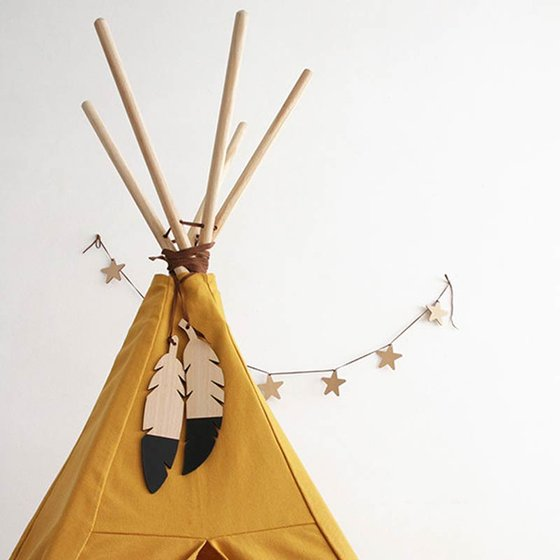 Tipi Nevada 155x128 cm farniente yellow