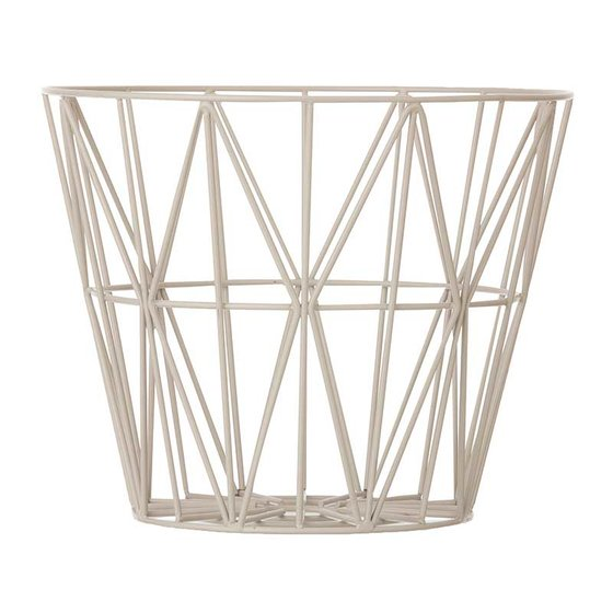 Wire Basket grey