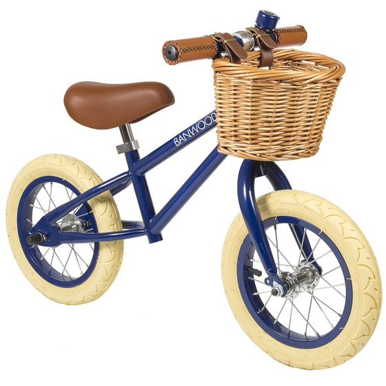 Balance Bike First Go navy blue