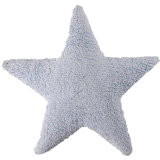 Cushion Star white 50x50cm