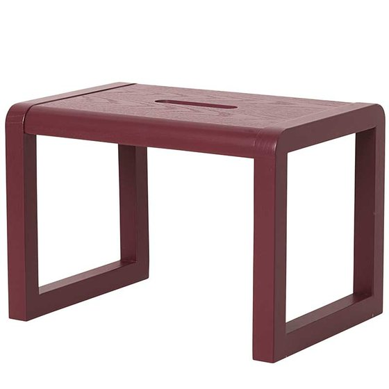 Hocker Little Architect 33x23x23cm