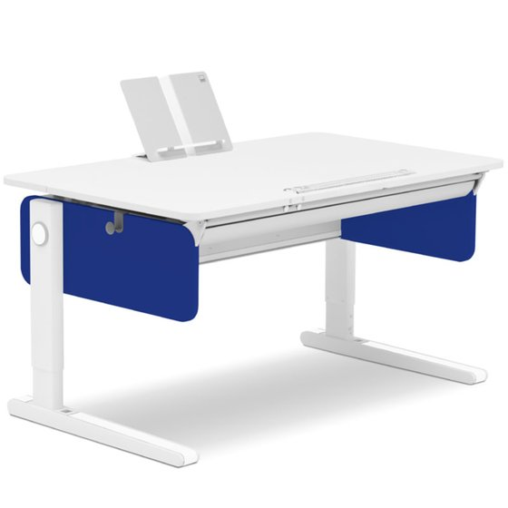 Desk Champion left up 1252x774x80cm blue