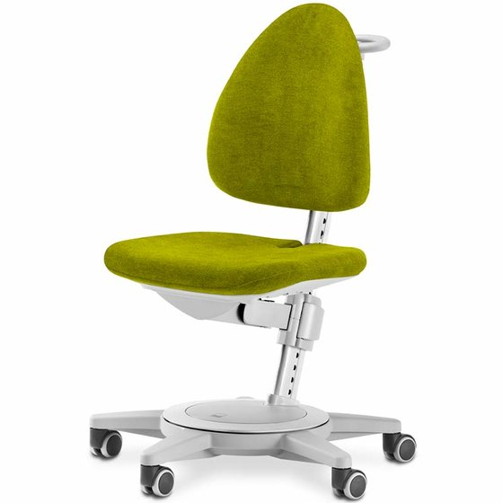 Chair Maximo 590x580x610cm grey/lime
