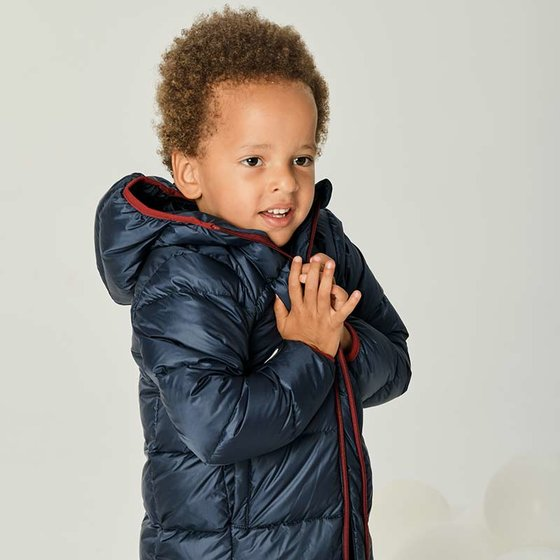 Down Jacket navy blue